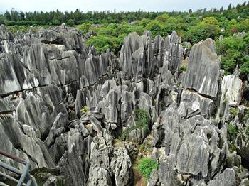 Каменный лес Шилинь. Провинция  Юньнань, Китай