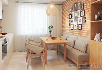 6 нюансов, которые нужно учитывать при выборе дивана на кухню