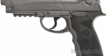 Пневматический пистолет Borner Sport 306 M — идеальная копия известного Crosman C31