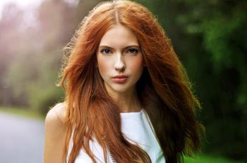 Рыжий цвет волос — особенности создания уникального стиля