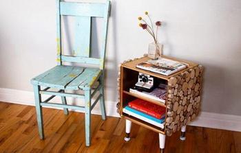 Столики, сделанные своими руками, которые преобразят интерьер