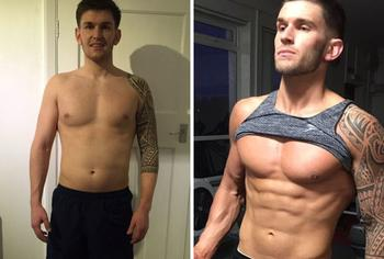 К чему приводят спорт и сила воли: впечатляющие трансформации тела