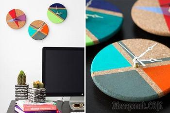 Нетривиальные примеры настенных часов, которые вы захотите сделать