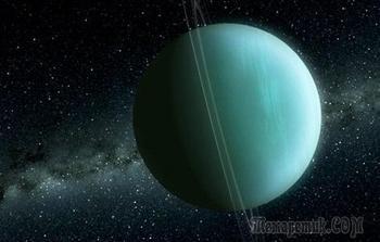 """Планета Уран: интересные факты о тайнах """"зелёной"""" планеты"""