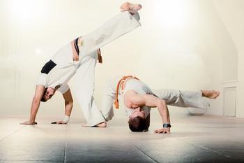 Капоэйра — удивительные тренировки для сильных людей