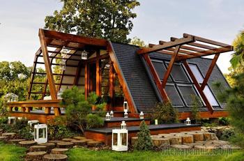 Энергосберегающий дом в Румынии