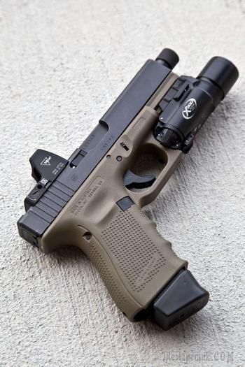 Пистолеты Glock и варианты их тюнинга