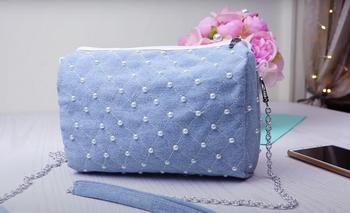 Модная сумочка из подручных материалов