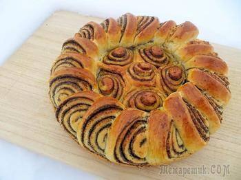 Самый красивый маковый пирог