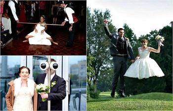 На долгую память: нелепые свадебные фотографии, на которые без слез не взглянешь