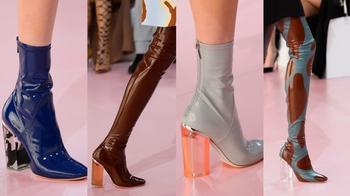 Модная обувь 70-х