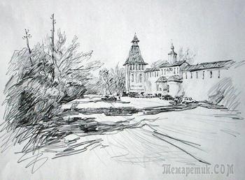 Зарисовки карандашом Дмитрий Сажнова