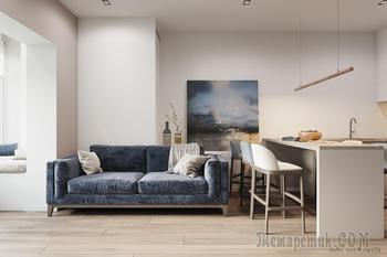 Минималистичный стиль интерьера с преобладанием прямых линий и простых форм