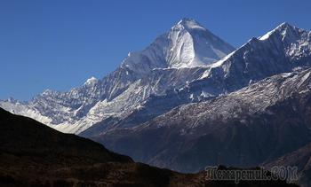 Непал. Гималаи. Трек вокруг Аннапурны. 14. селение Муктинатх (Ранипаува 3800 м) - Лепра - Джомсом (2800 м)
