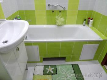 Зеленый в ванной: идеальные условия для воплощения дизайнерских идей и фантазий
