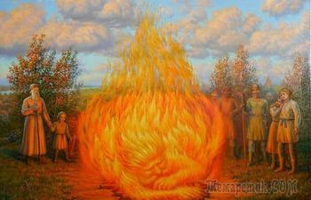 Как на Руси души предков вызывали