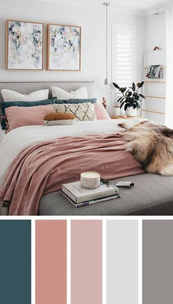 Идеальные цветовые сочетания для спальни