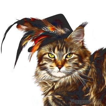 Про кошку Клёпу