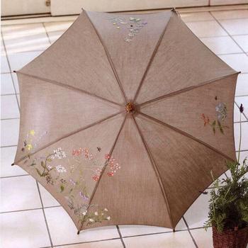 Вышивка на зонтике