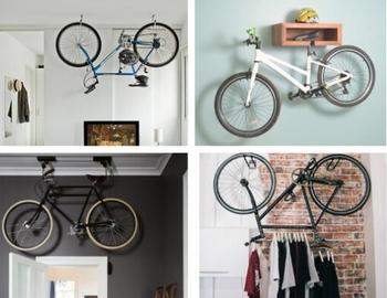 Идеи хранения велосипеда