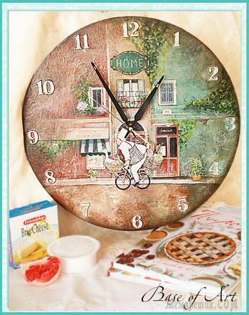 """Часы """"Французский повар"""": мастер-класс"""