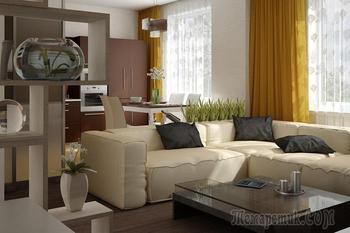 7 ляпов в дизайне квартиры-студии, которые потом будут сниться в плохих снах