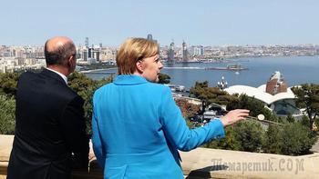 Газ в обход России: зачем Меркель ездила на Кавказ