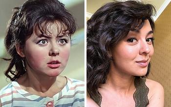 Современные актрисы, которых можно легко спутать с легендами советского кино