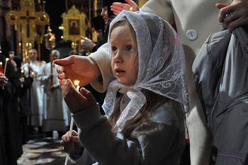 Учим детей молиться