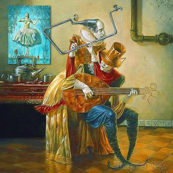 Трое  из  оркестра,  или  перипетии  любви (Стих)