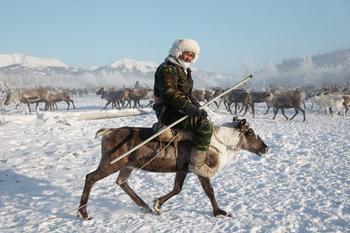 Фото прогулка: Оленеводы Якутии