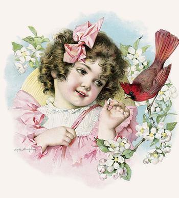 "Детки - ""конфетки"" - Художница Мод Хамфри (Maud Humphreyи). Открытки конца ХIХ - начала ХХ века"