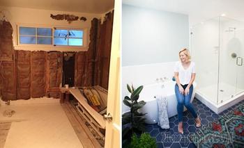 «До и после»: 2 потрясающие истории ремонта ванной