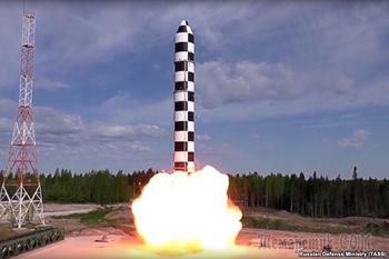 Ракету «Сармат» назвали посланием России США