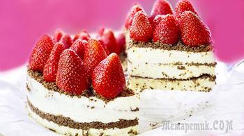 Самый вкусный торт без выпечки из простых продуктов