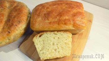 Как приготовить хлеб дома в духовке