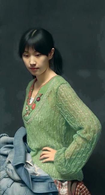 Китайский художник Лэн Цзюнь, чьи картины маслом считаются самыми реалистичными в мире