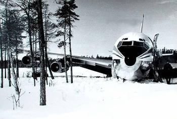 Катастрофа Boeing 707 в Карелии