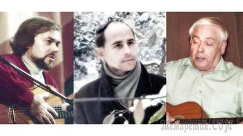 В этот день 25 лет назад... Из архива. Николай Тюрин и Александр Васин на вечере, посвящённом Николаю Рубцову. 18 января 1996 г., ЦДРИ
