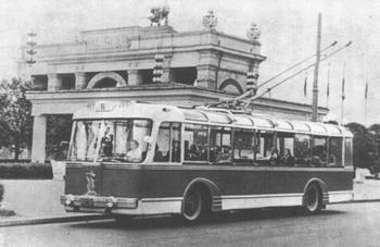 Троллейбус повышенной комфортности