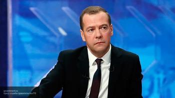 Медведев заявил об историческом минимуме инфляции