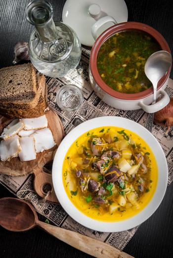 """Суп с потрошками для Глеба Жеглова. """"Литературная кухня"""""""