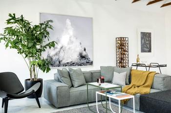 Скандинавский стиль по-американски: мужская квартира