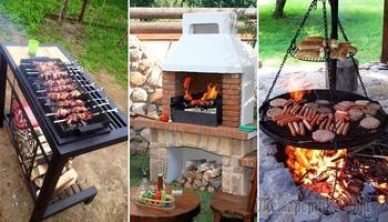 Что за дача без мангала, или Какую конструкцию выбрать, чтобы практично и привлекательно