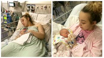 Уснула девушкой — проснулась мамой: 18-летняя студентка родила здорового ребенка, находясь в коме