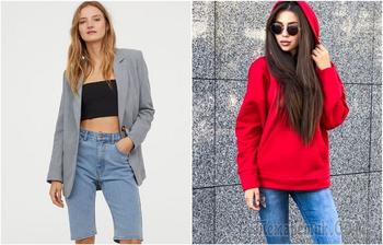 Дешево, но со вкусом: 7 стильных образов с джинсовыми шортами