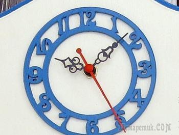 Создаем часы «Чешские гуси»
