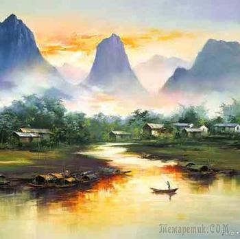 Лян Хунцзянь - Liang Hong Jian (梁鸿健) или Кен Хон Люн  - мастер пейзажа
