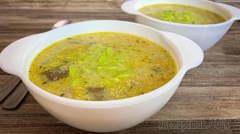 Грибной суп по-старорусски