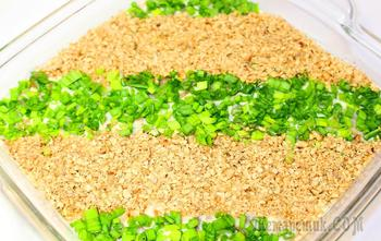 Салат из сельди и орехов